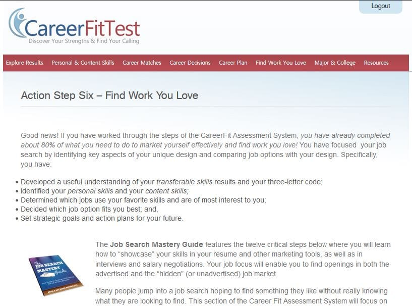 Sample Career Action Plan  Step  Develop A Career Action Plan